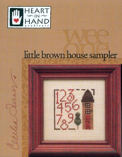 little brown house sampler
