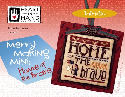 Merrymaking Mini Home of Brave  cover